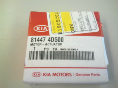 2006-2012 Kia Sedona Sliding Door Lock Actuator Motor OEM 81447-4D500