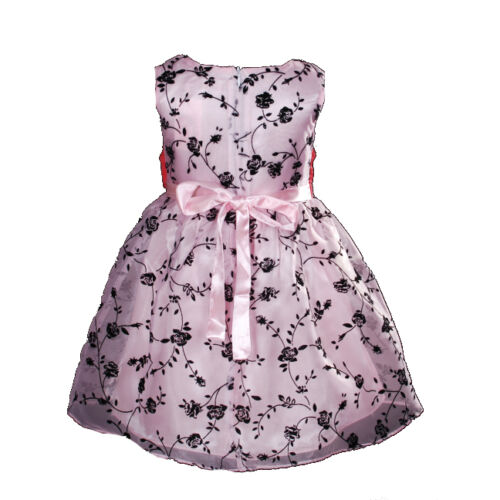 New Flower Girl Party Bridesmaid Wedding Pageant Dress in 2 Colours From 1-5Year