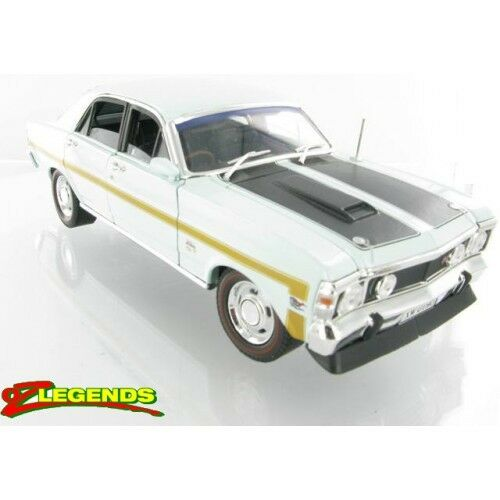 New in box ford falcon xw gtho 24 limited edition ein diecast modell diamant - weiß