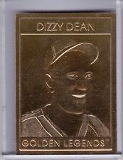 1996 GOLDEN LEGENDS #GL8 DIZZY DEAN ST. LOUIS CARDINALS HOF #9729 7094