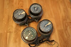 HONDA-GAUGE-CLUSTERS-2-sets-SPEEDO-TACH-AND-BRACKET-CB550-Canadian-Seller-11