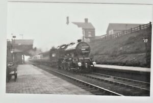 Market Drayton Railway Station Photo 2 Tern Hill to Adderley.