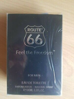 Route 66 Feel the Freedom for MEN 100ml Eau de Toilette NEU   eBay