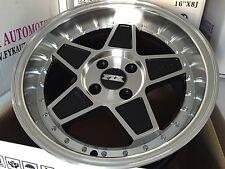 "FYK ED3 16"" 8j 9j Et10 Alloy Wheels 4x114.3 EURO DRIFT BBS RS SSR XXR AE86 JDM"
