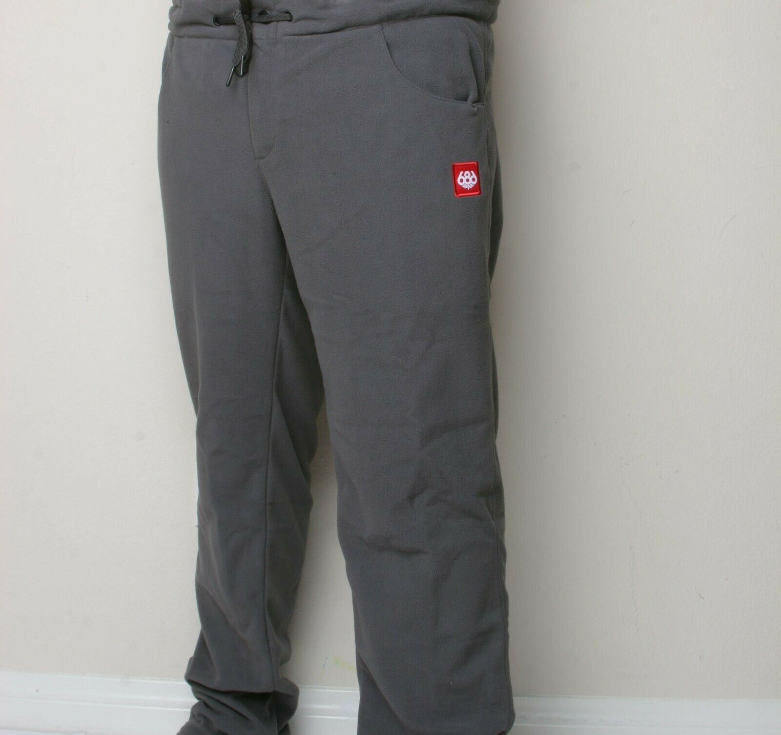 686 Civil Fleece Pant (L) Charcoal L9WLAY04-CHA