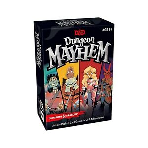 Dungeons-And-Dragons-Unleash-The-Mayhem-The-Card-Game-NEW-Casual-Fast