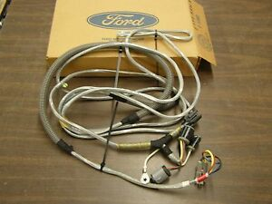 nos oem ford 1987 1990 truck trailer lamp wiring harness 1989 ford alternator wiring diagram