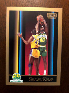 6c839c7481785 Details about 1990-91 Skybox #268 Shawn Kemp Seattle Supersonics RC Rookie  Basketball Card