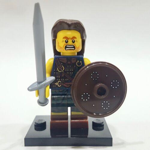 "LEGO Collectible Minifigure #8827 Series 6 /""HIGHLAND BATTLER/"" Complete"