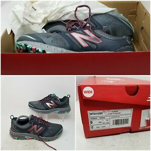 New Balance 412 Gray Athletic Hiking Running Tennis Shoes Sneaker Women's Size 9