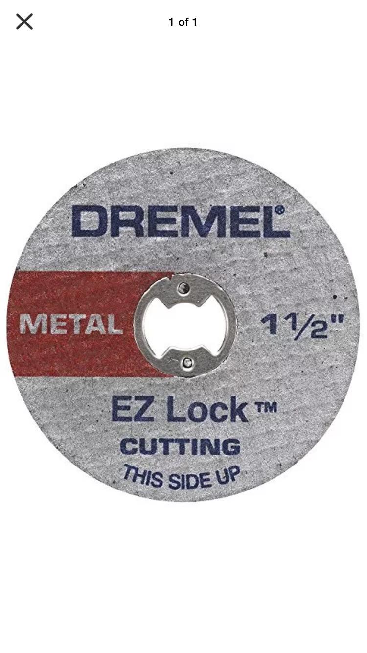 Lot Of 100 Dremel EZ456B EZ-Lock Metal Cut Off Wheels