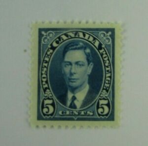 1937 Canada SC #235 KING GEORGE VI  MH  F-VF stamp