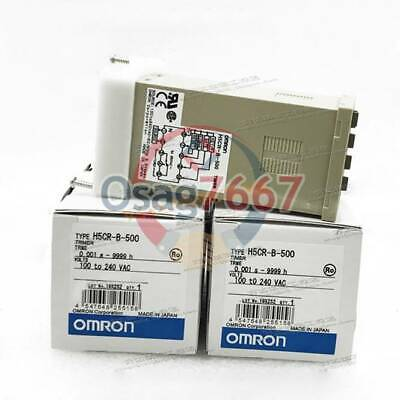 1PC  New For Omron Time Relay H5CR-B-500 100-240VAC