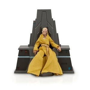 Star-Wars-Black-Series-Last-Jedi-Snoke-With-Throne-6-034-Loose-Action-Figure-Stand