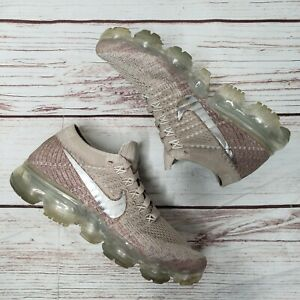594705b49fa60 Image is loading NIKE-Air-Vapormax-Flyknit-849557-202-String-Chrome-