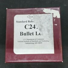 Nist Standard Reference Material C2416 Bullet Lead