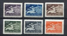 36060) POLAND 1948 MNH** Air Mail - Centaur 6v