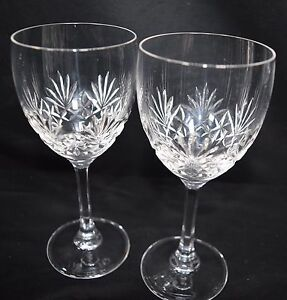 7f30cfd1cece Image is loading A-Pair-of-Edinburgh-Crystal-Wine-Sherry-Port-