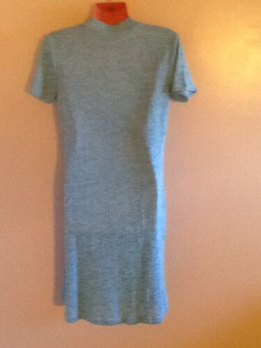 Women/'s Short Sleeve Keyhole  Dress