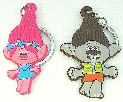 Cake Toppers Custom Poppy Cooper and Branch Keyrings Bookbag Charms Key Snaps /& Holiday Tree Decor Trolls Key Fobs Keychains