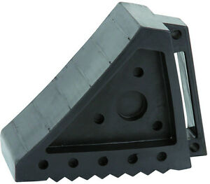 New Solid Rubber Wheel Chock