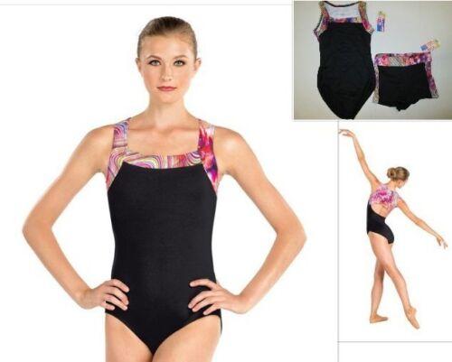 NEW Adult PA LA  XL Baltogs Leotard Shorts Set Dance Ballet Jazz Gymnastics