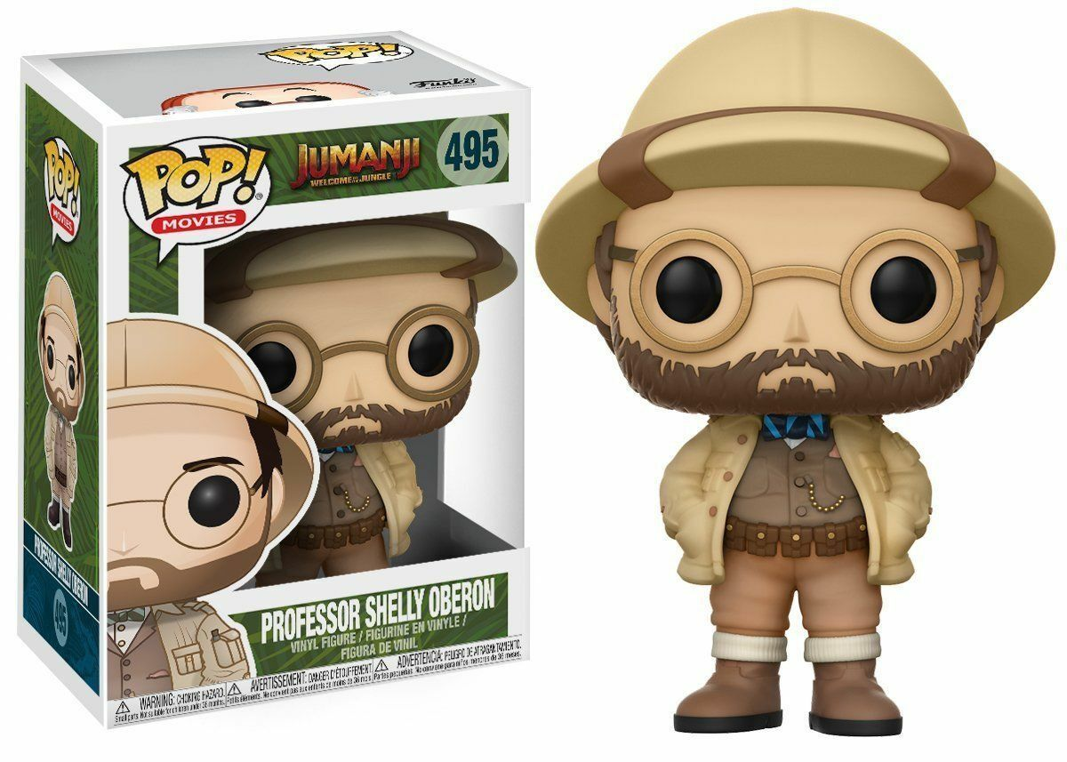 Funko Jumanji Pop  Vinile Personaggio Professore Shelly Oberon