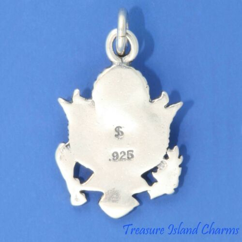 Grand Sceau des États-Unis USA United States Presidential .925 Sterling Silver Charm