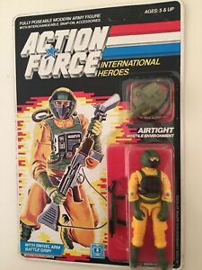 Moc coupe-vent Joe Action Force Gi Joe vintage, années 1980