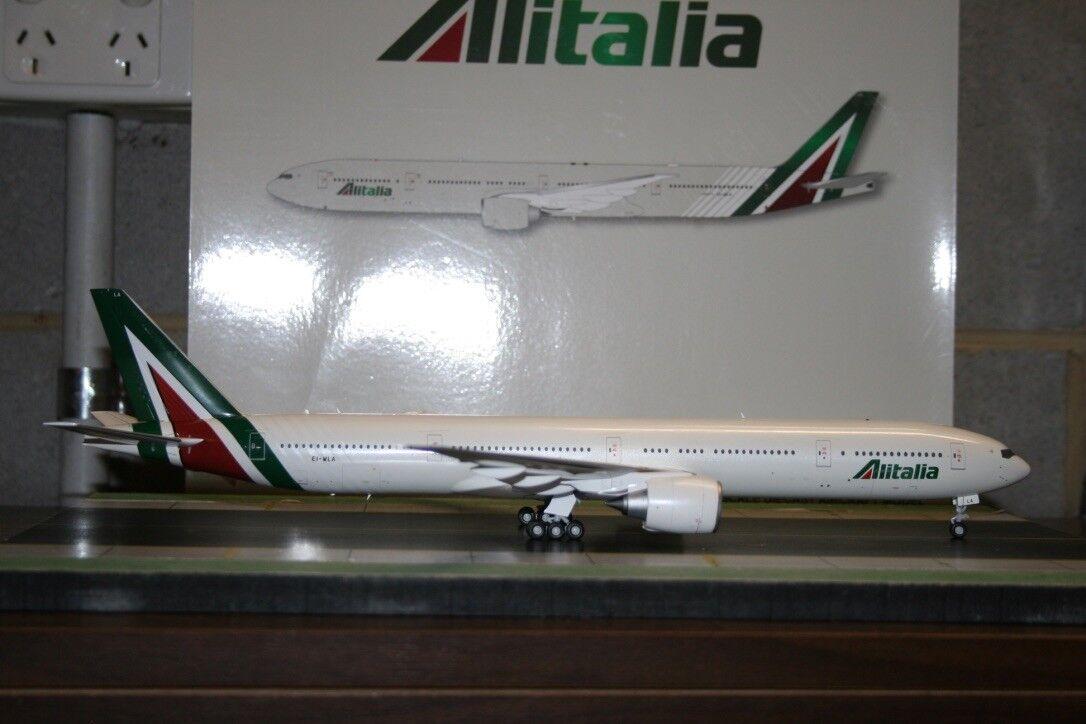 Jc Wings 1 200 Alitalia Boeing 777-300ER IE-WLA  Nuevo  (XX2157) Modelo De Fundición