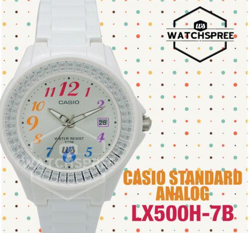 1 of 1 - Casio Ladies' Standard Analog Watch LX500H-7B