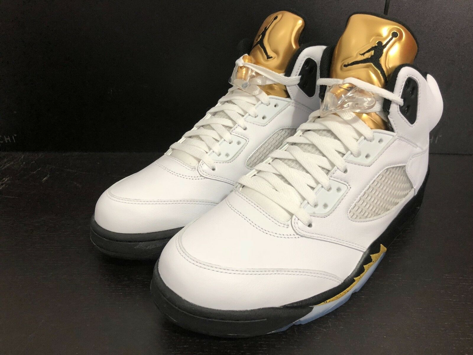 AIR JORDAN 5 RETRO -  gold  - LIMITED - SIZE 11 - 2016