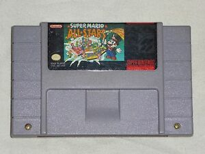Super-Mario-All-Stars-Super-Nintendo-SNES-Game-AUTHENTIC-bros-Works-Great-READ