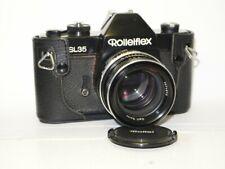 Rollei Rolleiflex SL35 black (Germany) Objektiv Carl Zeiss Planar HFT 1,4/50