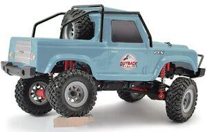 FTX-Outback-MINI-v2-RANGER-Land-Rover-luz-AZUL-4x4-1-24-RTR-Rock-Crawler