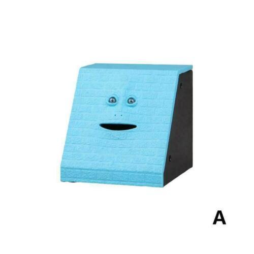 die Spargeld-Kasten-Ki L3U8 Lustiges Facebank-Gesichts-Sparschwein-Sensor-Münze
