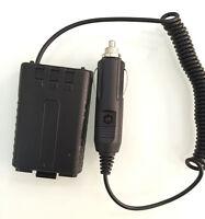 Car Charger Battery Eliminator Adapter For Baofeng Uv-5r Uv5ra/b/c/d/e Plus Bl-5