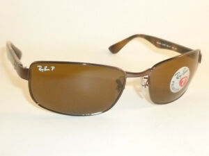 New RAY BAN Sunglasses Brown Frame RB 3478 014 57 Polarized Brown ... 36d0d39617