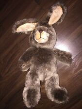 TCM Tchibo Stofftier Kuscheltier Plüschtier Hase Rabbit Braun Brown Meliert Süss