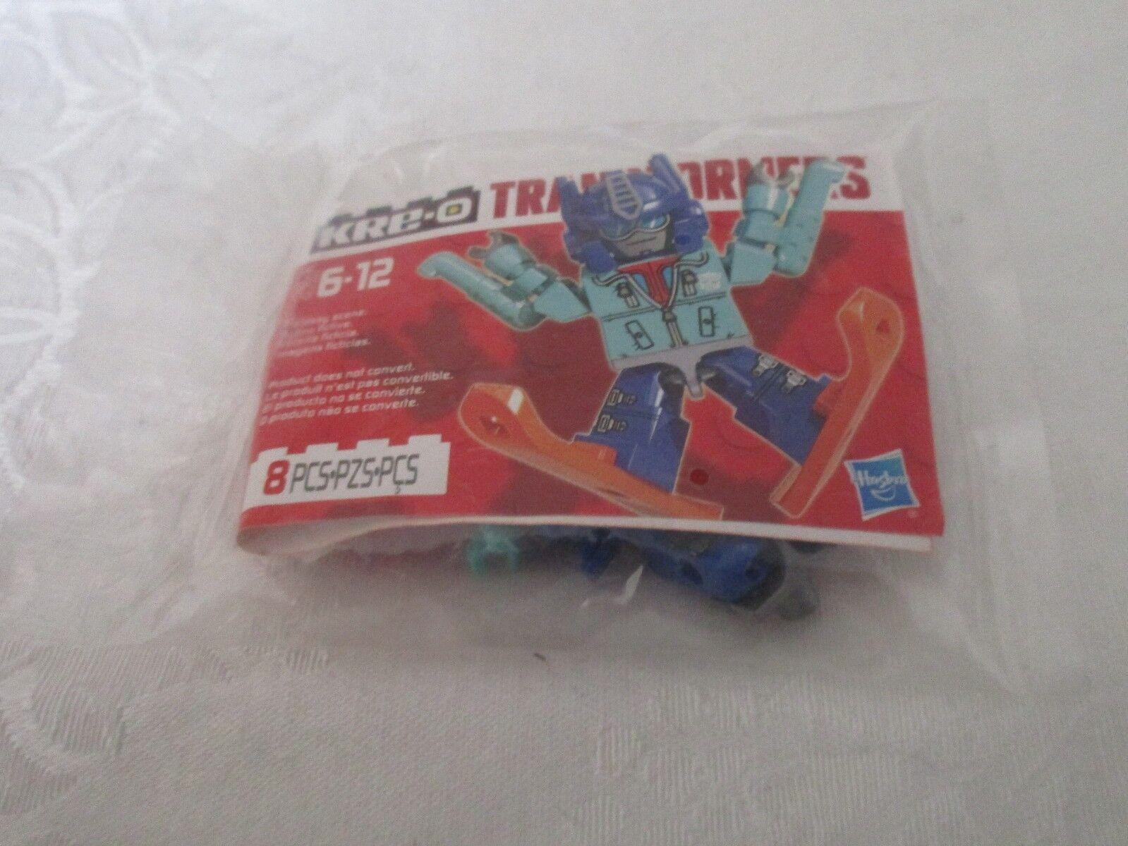 Hasbro Kre-o Transformers Optimus Prime Figura De Esquí Esquí 83904