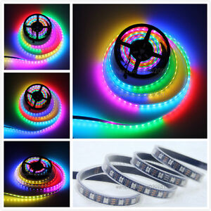 Tube-Waterproof-SK6812-Dream-color-5M-300-5050-RGB-LED-Strip-5V-Replace-WS2812B