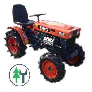 kleintraktor allrad traktor kubota b6000 gebraucht ebay. Black Bedroom Furniture Sets. Home Design Ideas