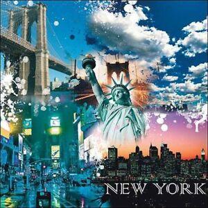 Marrone Studio: New York Libertà Barella-Immagine Schermo Collage ...