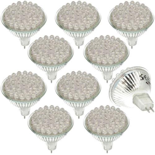 10x DEL gu5.3 1.8 W Lampe Projecteur Spot lampe Ampoules M 36 DEL/'s kaltweiß