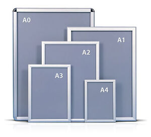 A0A1A2A3A4-Snap-Frames-Poster-Clip-Holders-Displays-Retail-Wall-Notice-Boards