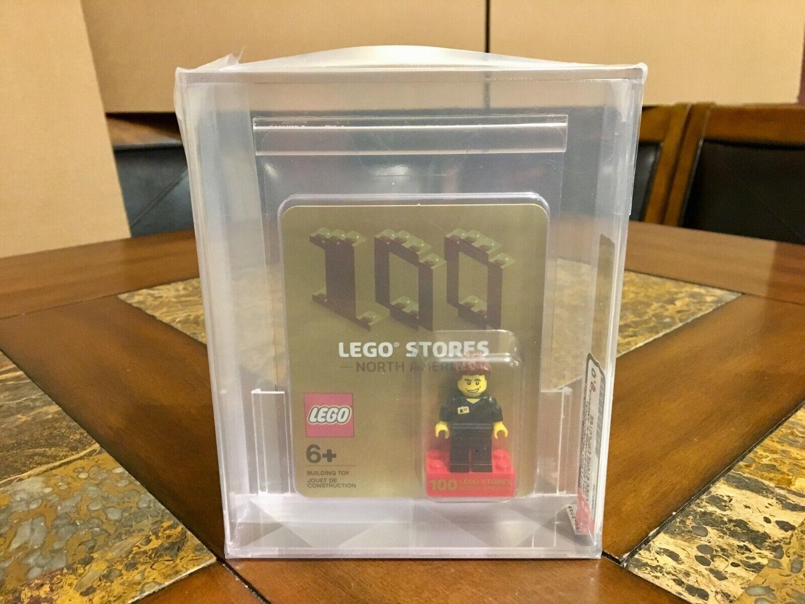 LEGO  EXCLUSIVE PROMOTIONAL 100 NORTH AMERICAN STORES nuovo AFA 9.0 VERY RARE   offrendo il 100%