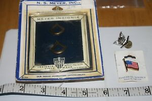 N. S. Meyer Insignia Specialists  Pins     American Eagle  &  US  Flag