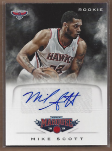 2012-13-Panini-Marquee-Rookie-Signatures-73-Mike-Scott-Auto-NM-MT