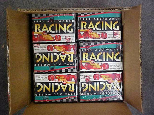 24 Sets 1992 All World Racing Factory Set Case