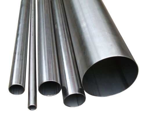 """76mm 3/"""" inch x 750mm T304 stainless steel 1.5mm wall tube pipe exhaust repair"""